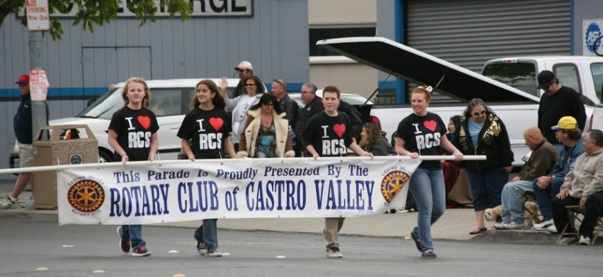 Rotary in parade